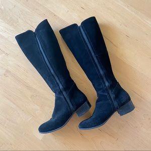 Steve Madden Giselle Knee High Boots Black 6.5